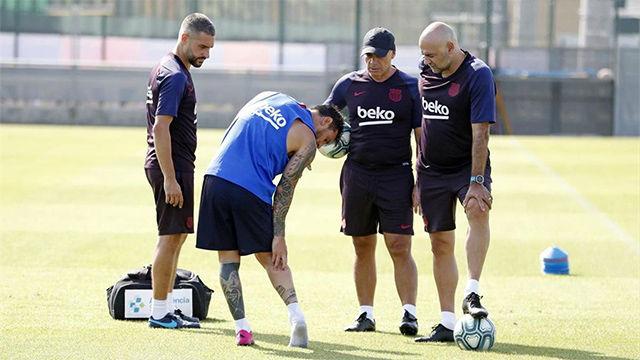 Las consecuencias de la lesión de Messi en el sóleo