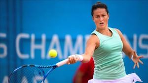 Laura Arruabarrena se despide del torneo de Gstaad en primera ronda