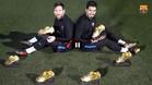Messi-Luis Suárez: Seis Botas de Oro les contemplan