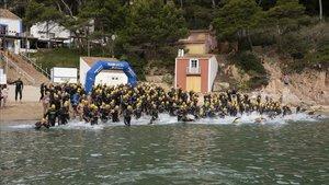 Los participantes han disfrutado de una travesía con unos fondos marinos espectaculares