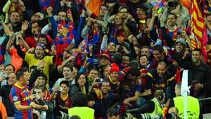 Los socios pueden acompañar al Barça en Londres