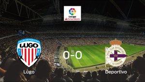 El Lugo y el Deportivo solo suman un punto (0-0)