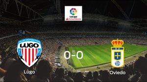 El Lugo y el Real Oviedo firman un empate sin goles (0-0)
