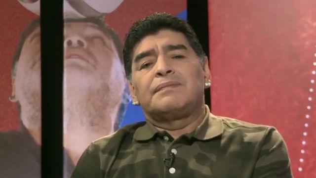 Maradona: Leo no tiene la culpa de nada