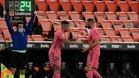 Mariano saltó al césped de Mestalla para disputar sus primeros minutos de la temporada