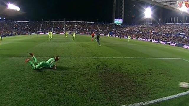 Mayoral puso el segundo gol en el Ciutat de València. Así narró la radio el gol