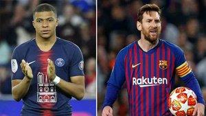 Messi y Mbappé luchan por la Bota de Oro