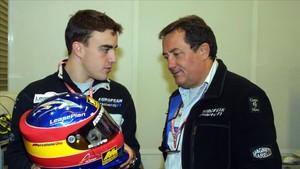 Minardi y un joven Alonso, en su debut en F1 en 2001