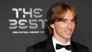 Modric en los premios de FIFA the best 2018