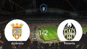 El Paterna suma tres puntos a su casillero frente al Atzeneta (1-2)