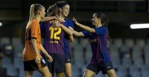 Patri Guijarro y Aitana fueron protagonistas de la goleada del Barça