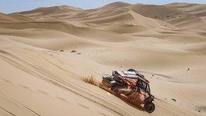 Peña y Tornabell, en el desierto de Marruecos