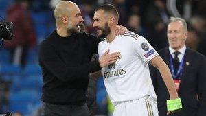 Pep se mostró optimista y espera doblegar a Benzema y compañía