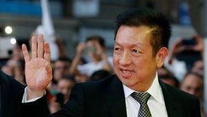 Peter Lim. máximo accionista del Valencia