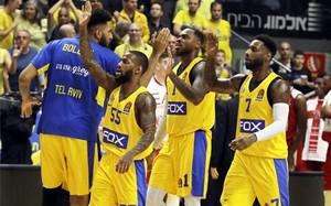 Pierre Jackson, líder del Maccabi Tel Aviv