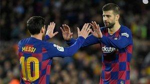 Piqué se mojó sobre la situación vivida entre Messi y el club