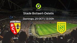 Previa del encuentro: Racing de Lens - FC Nantes