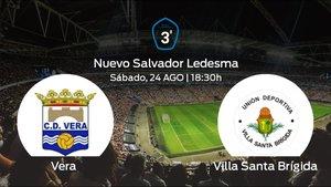 Previa del encuentro: el Vera inicia el torneo jugando contra el Villa Santa Brígida