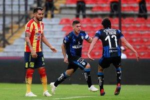 Primera vez en el campeonato que el Querétaro marca tres goles