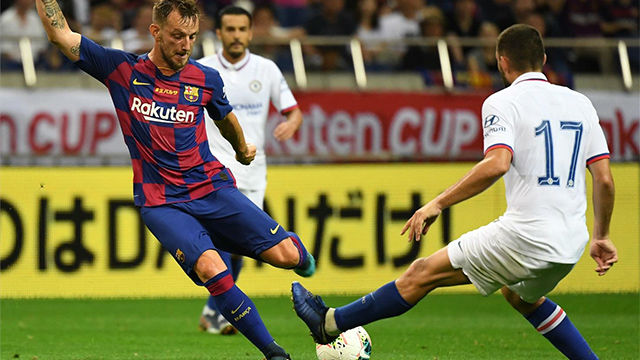 Barcelona rejected an offer from a Premier League club for Rakitic