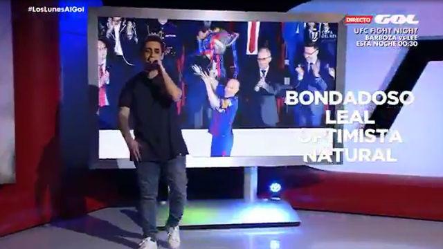 El rap sobre la carrera de Iniesta que arrasa en las redes