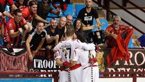El Reus Deportiu derrotó al Barça en la reciente final de la Supercopa