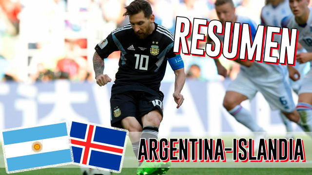 Rusia 2018 | Así empató Argentina con Islandia