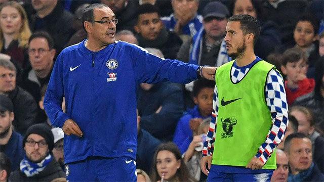 Sarri: No nos podemos permitir la salida de Hazard