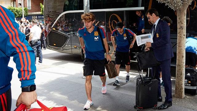La selección española ya está en Villarreal