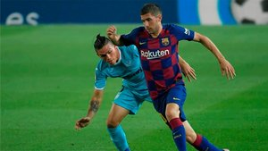 Sergi Roberto se salió frente al Villarreal