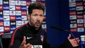 Simeone habló de su encuentro con Dybala en Madrid
