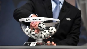 El sorteo de los cuartos de la Champions, el viernes 16 de marzo a las 12 horas