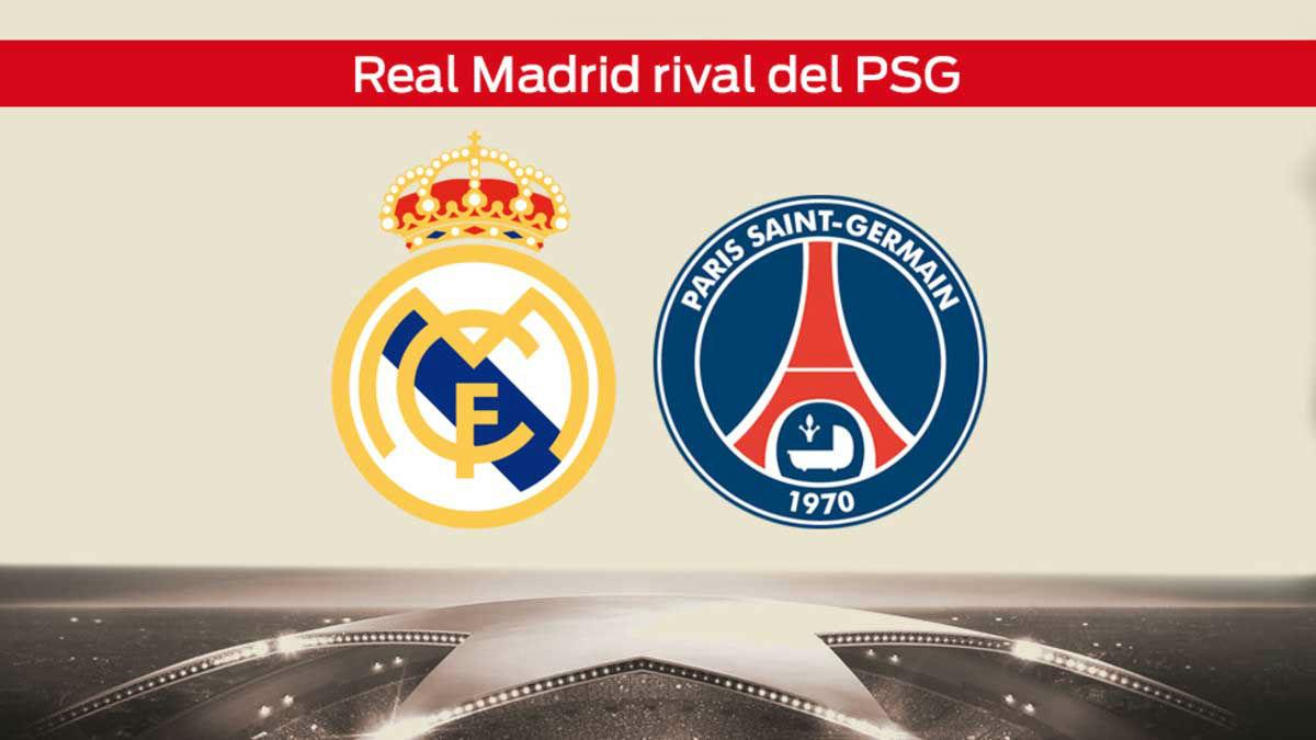 Sorteo de octavos de Champions: Real Madrid - PSG