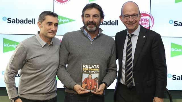 Valverde habló del estado físico de Messi y Umtiti