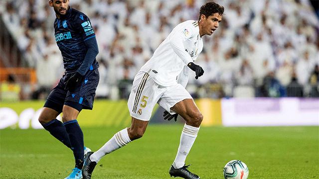 Varane: He visto a Bale centrado en su trabajo