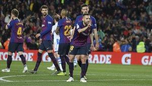 Victoria sufrida del Barça ante la Real Sociedad (2-1)