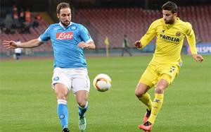 El Villarreal mostró su poderío en Nápoles