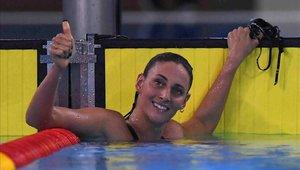 Virginia Bardach consiguió la medalla de plata