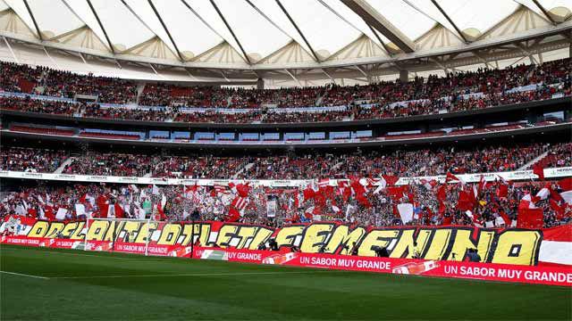 El Wanda bate el récord mundial de asistencia en el Atlético - Barça femenino
