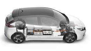 Nissan leaf batería