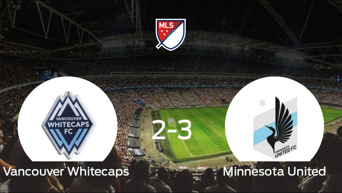 El Vancouver Whitecaps pierde 2-3 frente al Minnesota United e8c3085d5c614