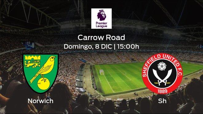 Previa del partido: el Norwich City recibe en su feudo al Sheffield Utd