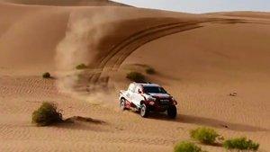 Alonso, en el test con Toyota en Abu Dhabi