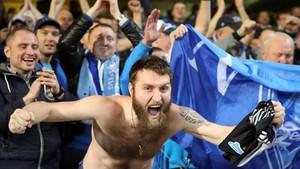 Aficionados del Zenit protagonizaron incidentes en Anoeta