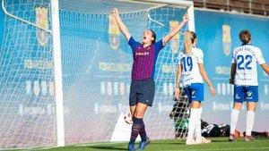 Aitana Bonmatí fue protagonista en el Barça femenino