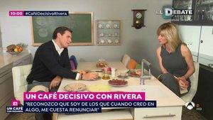 Albert Rivera desvela que mantiene una relación sentimental en Café decisivo | Antena 3