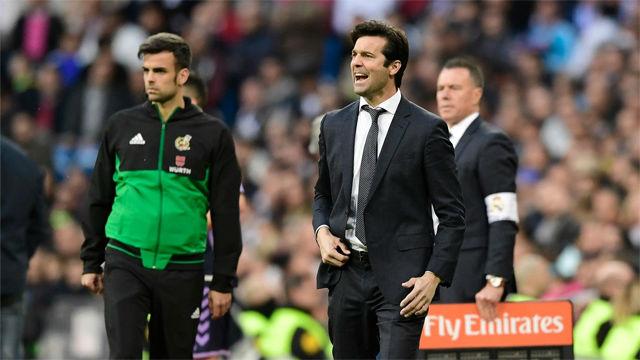 AsÍ vivió Solari su primer partido como entrenador en el Santiago Bernabéu