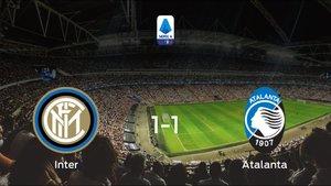 El Atalanta consigue un empate a uno ante el Inter