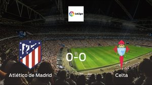 Atlético de Madrid and Celta ended the game with a 0-0 draw at Wanda Metropolitano