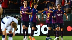 El Barça se medirá a la Roma en su segundo partido de pretemporada